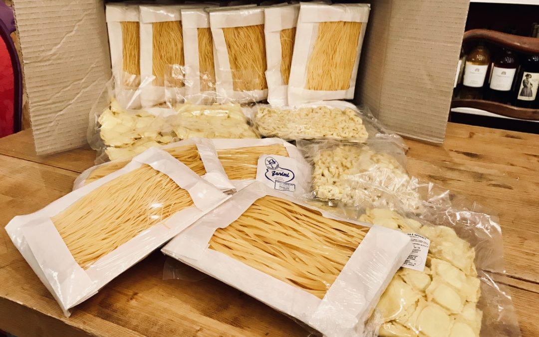 Dalla dispensa: pasta fresca artigianale del pastificio Farini